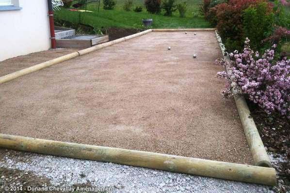 Terrain de boules am nagements haute savoie - Terrain de petanque dans son jardin ...